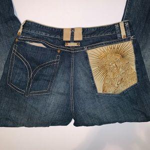 COOGI jeans Madonna 40x 34 EUC